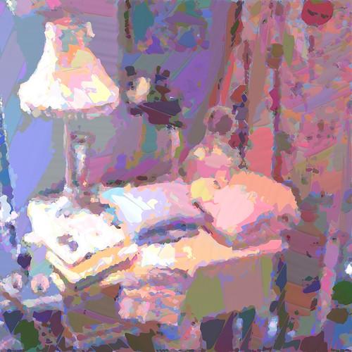 """nightstand """"painting"""""""