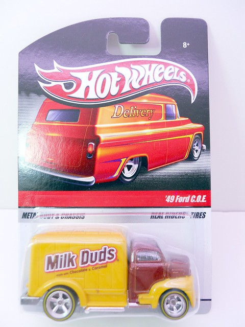hot wheels milk duds delivery '49 ford coe (1)