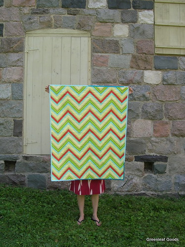 Striped Wedding Quilt
