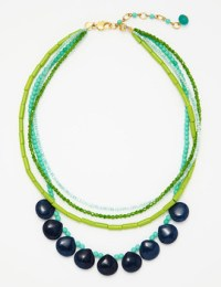 David Aubrey necklace aqua