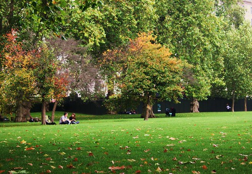 Relaxing in Green Park