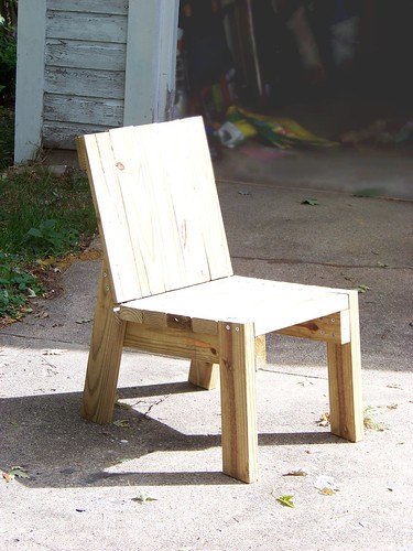 Diy 2x4 chair for Homemade 2x4 furniture