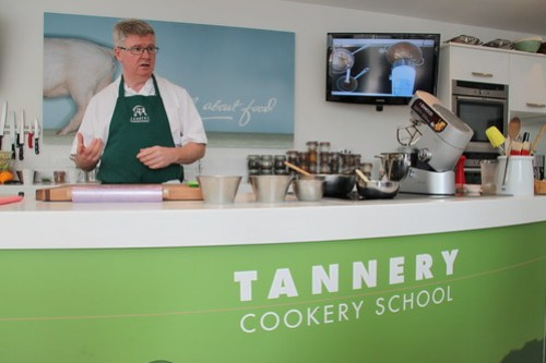 Paul Flynn at The Tannery Cookery School, Dungarvan