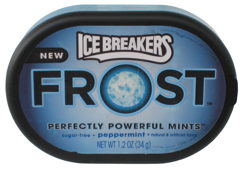 Ice Breakers Peppermint Frost