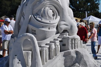 Siesta Key Crystal Classic Master Sandsculpting Competition, Nov. 20, 2010: by Matt Long & Kirk Rademaker