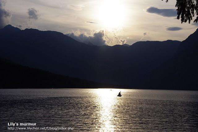 再會了,Bohinj湖,要等著我唷!