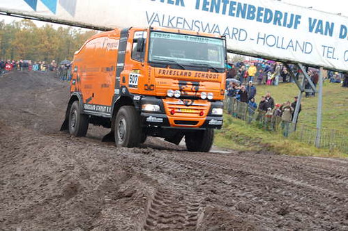 The GINAF of Dakar Team Holland