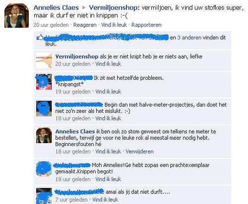facebook conversatie