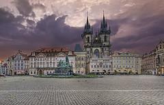 Old Town Square, Prague(Morning Sunlight)
