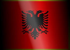 Albania Official Flag