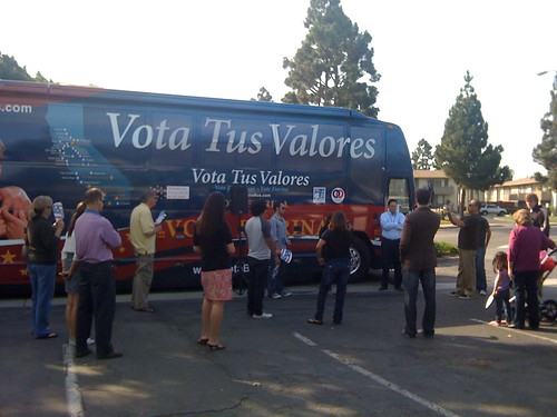 Vota Tus Valores crowd in Camarillo