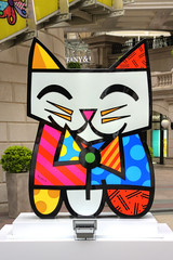 Britto Cat at Heritage 1881
