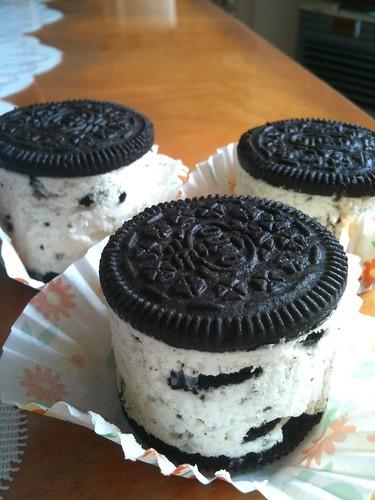 Individual Oreo Cheesecakes