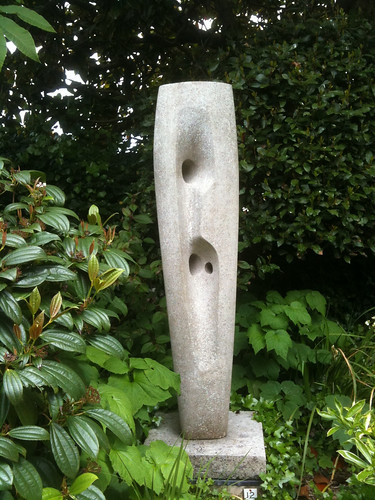 Unnamed stone sculpture