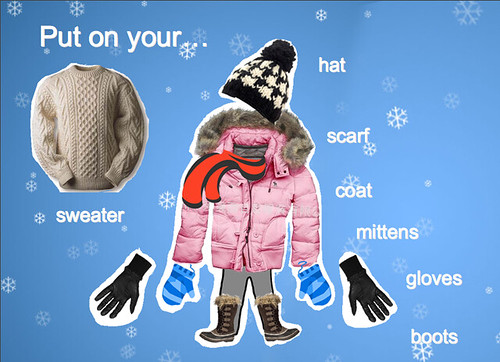 Teaching weather and clothing