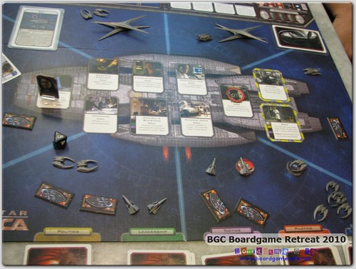BGC Retreat - Battlestar Galactica