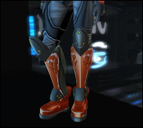 Male XEI - boots detail