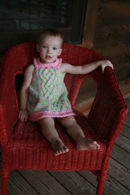 The Avalon Dress :: A KnitKnots pattern