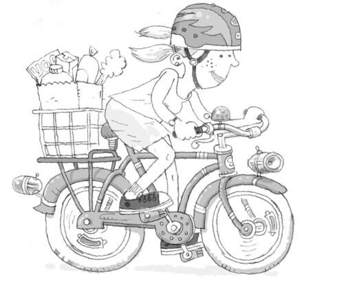 it's a bike
