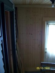Rear porch interior