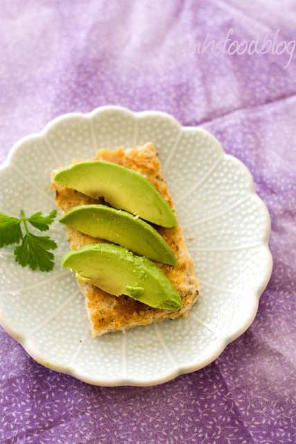 miso and avocado toast