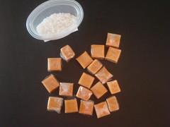 caramels and fleur de sel