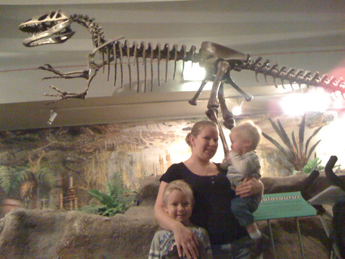 Meeting the Dinosaurs at the World Museum, Liverpool