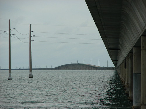 view of the 7-mile bridge