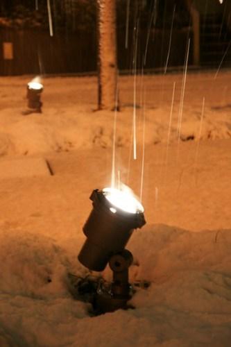 kudanashita snow