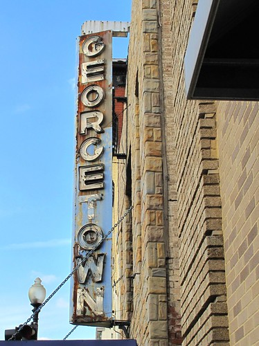 Gtown theatre sign