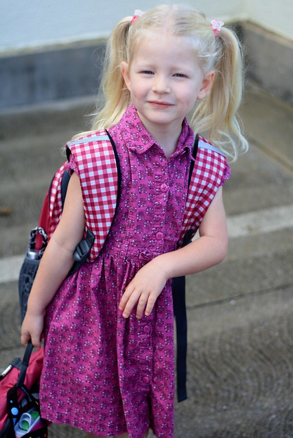 Cate's First Day of Kindergarten