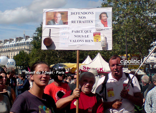 manif 7 septembre woerth bettencourt