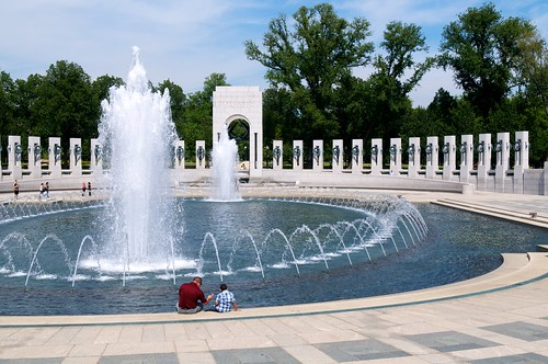 Fountains at the Memorial