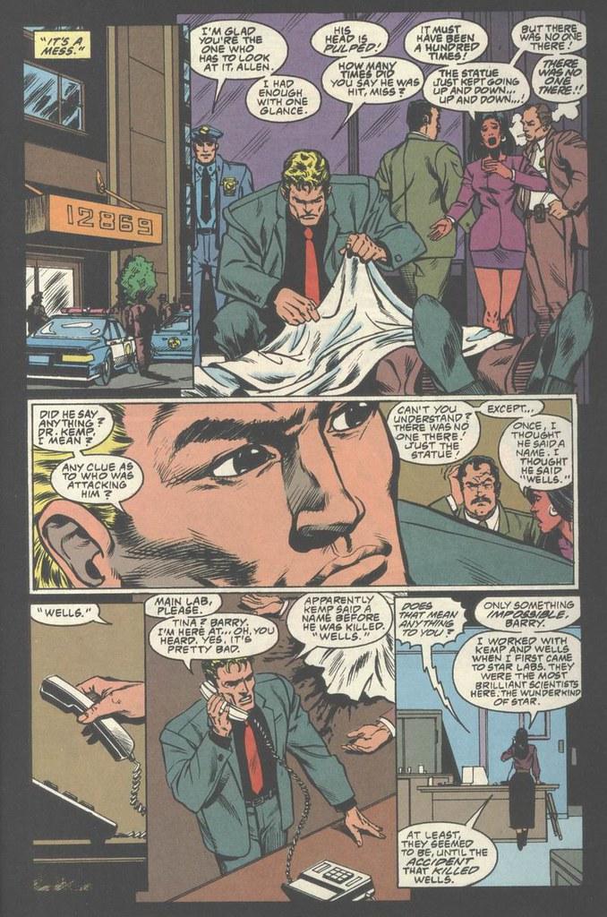 Flash TV Special Barry Allen