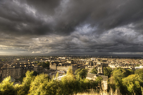 Storm Clouds over Edinburgh
