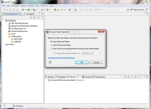 2. copy option dialog