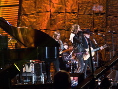 Steven Tyler with Willie Nelson