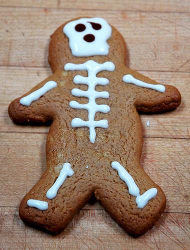 Gingerbread Skeleton