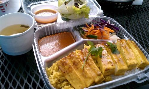 Satay from Chicken Run