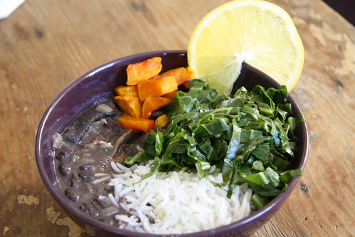 Portobello feijoada & friends