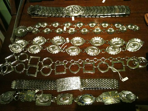 Vintage SIlver Belts