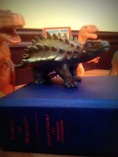 Dinosaur & Books