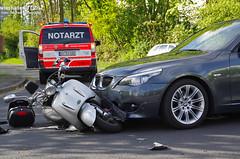 Motorradunfall Nordenstadt 09.04.11