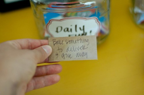 Bake Something to Give Away {Summer Jar}