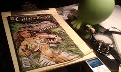 #comics - Cthulhu and the Cavewoman