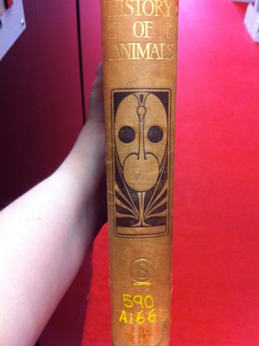 The Natural History of Animals - spine