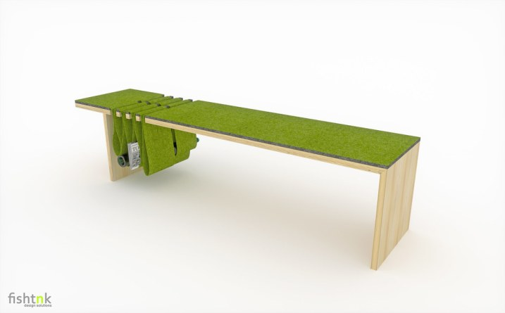 Double-Dip Bench