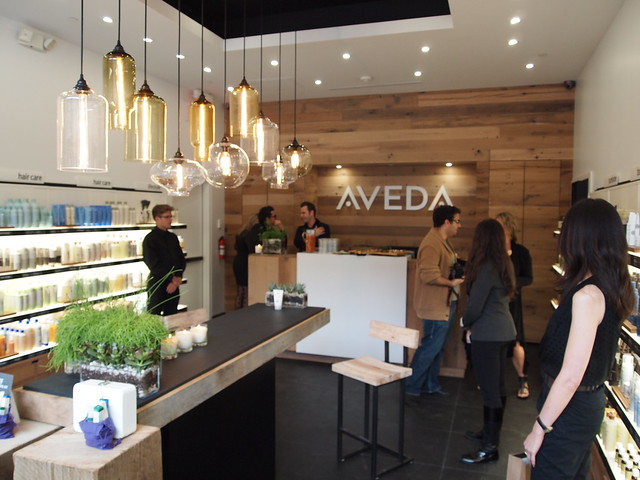 TIFF 2010 - Aveda Experience Centre