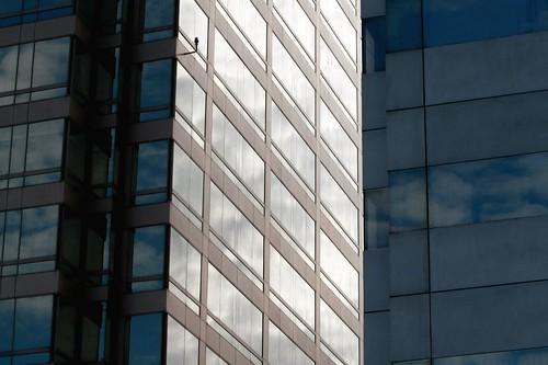 between Building