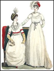 Women in Empire Gowns
